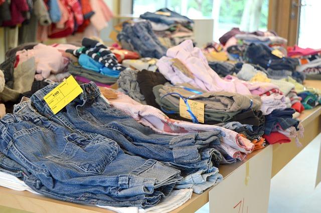 prodej oblečení z druhé ruky