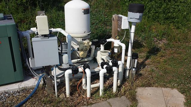 vodní filtrace