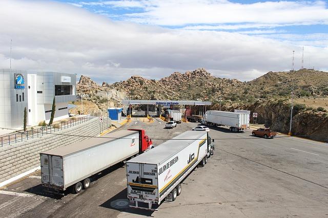 kamiony na odpočívadle