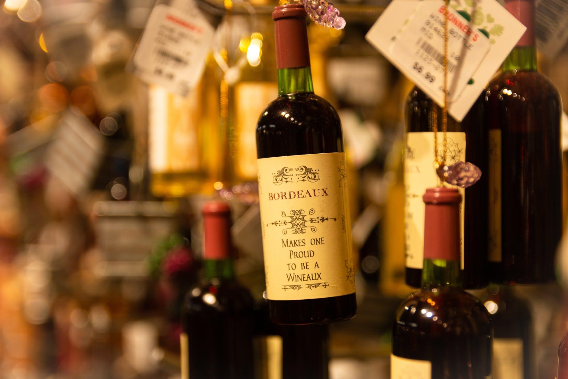 zavěšené víno